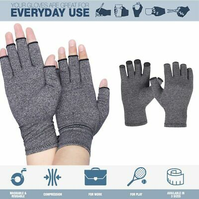 Arthritis Gloves Compression Joint Finger Pain Relief Hand Wrist Support Brace