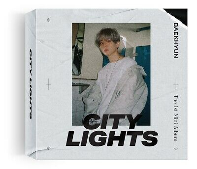 [KIHNO ALBUM] BAEKHYUN - City Lights (1st Mini) KIHNO KIT+Poster+Tracking no.