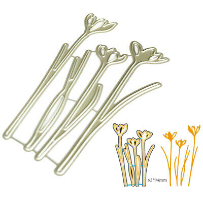 Flowers set Metal Cutting Dies Stencil for DIY Scrapbooking Paper Cards Decor~GN