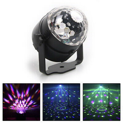 Cool Sound Activated Disco Light with Remote Control DJ Party Bar LED Stage Lamp