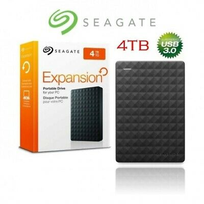 "Seagate Expansion Portable 4TB 2.5 in 2.5"" External Hard Drive Disk USB 3.0"