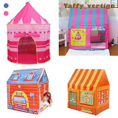 Kids Pop Up Wizard Princess Castle Playing Tent Out / Indoor Playhouse Fun Toy
