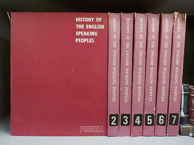 History Of The English Speaking Peoples - 84 Magazines in 7 Binders (ID:5380)
