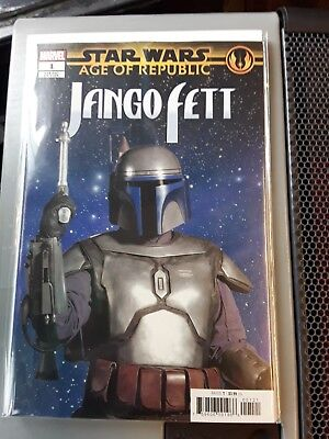 Star Wars Age Of Republic Jango Fett #1 Movie Variant NM Bagged and Boarded