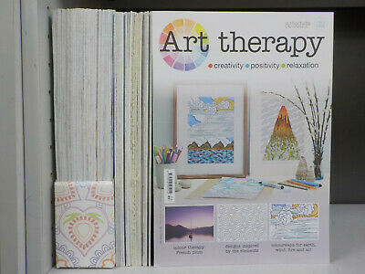 Art Therapy - Hachette - 53 Magazines Collection! (ID:5397)