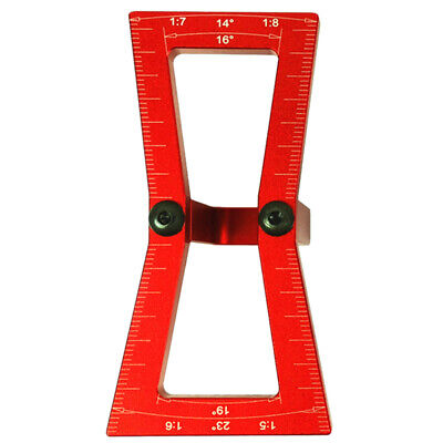 Dovetail Marker,Hand Cut Wood Joints Gauge Dovetail Guide Tool, Dovetail Te X8J6