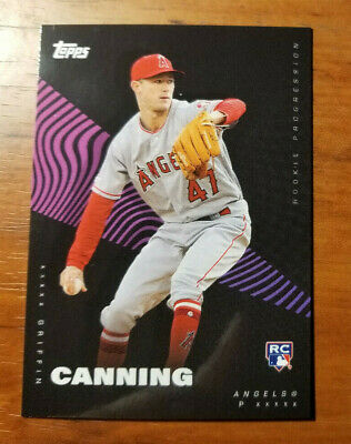 Griffin Canning RC 2019 Topps On Demand Rookie Progression alternate 27A
