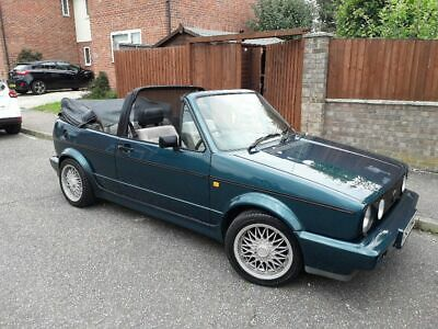 VW golf cabriolet 1 previous owner