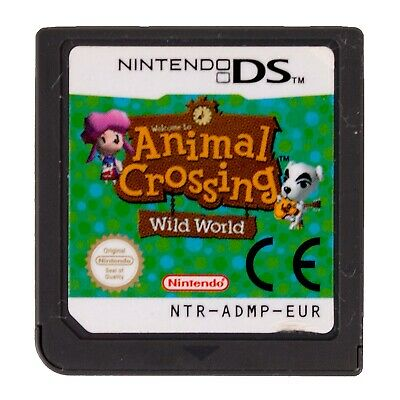 Animal Crossing Wild World For Nintendo DS / 3DS / 2DS - Cartridge Only