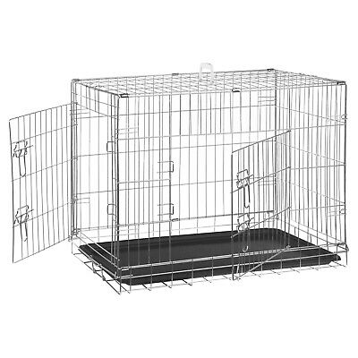 Me & My Pets Folding Pet Cage Dog/Cat Carrier Kitten/Puppy Training Pen Crate