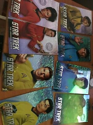 Dave and Buster's Star Trek coin pusher LIMITED EDITION cards Full Set tribbles