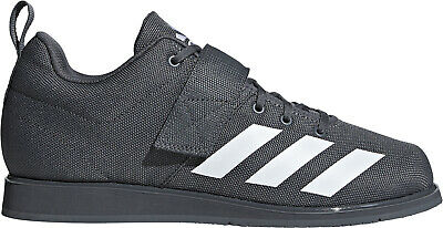 adidas Powerlift 4.0 Mens Weightlifting Shoes Grey Bodybuilding Boots Gym Lift