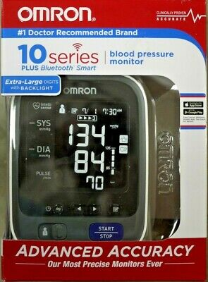 Omron BP786 10 Series Upper Arm Blood Pressure Monitor with Bluetooth