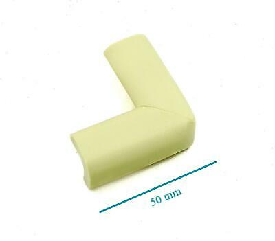 4x BABY SAFETY CORNER CUSHIONS - FOAM CORNERS PROTECTORS FOR CHILD & BABY