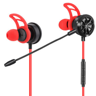 Pc Gaming Headset With Microphone In Ear Bass Noise Cancelling Earphone Wit G7N5