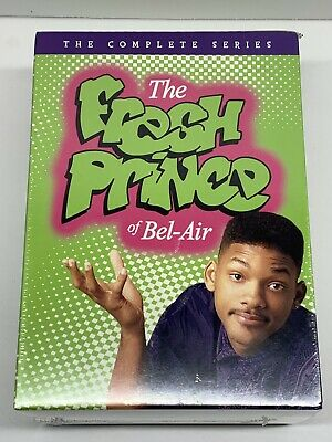 the fresh prince of bel air complete series season 1 - 6 sealed