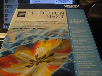 PE Design Next-Brother software-New opened but not used or reg. full version