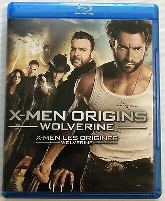 X-Men Origins Wolverine (Bluray, Xmen, Marvel, 2013) Canadian