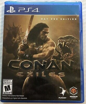 Conan Exiles Day One Edition (Sony PlayStation 4, 2018, PS4) Canadian