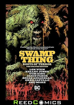 SWAMP THINGS ROOTS OF TERROR DELUXE EDITION HARDCOVER (144 Pages) New Hardback