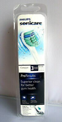 Philips Sonicare HX6023 Proresults Compact Replacement Brush Heads