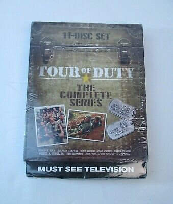 Tour of Duty - The Entire Series 3-Pack DVD, 2015, 11-Disc Set New Sealed