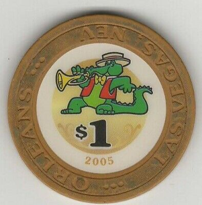 Orleans 2005 $1 Las Vegas Casino Chip Bonus Read Description Poker Room