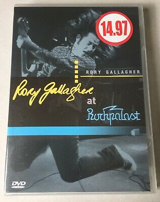 Rory Gallagher - Live at Rockpalast - DVD - In excellent condition.