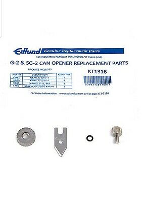 Edlund Kt1316 can opener blade kit for Sg2 and G2 models