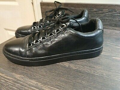 a4e31a7b2 Mens BALENCIAGA Arena Low Trainers Black - UK 7 - EU 40 - Great Condition