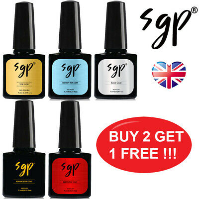SUPERGEL Top Coat , Base Coat , No Wipe Top Coat , Matt Top Coat Nail Gel Polish