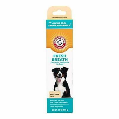 Arm Hammer Fresh Breath Dental Solutions for Dogs   Dog Toothpaste, Toothbrush,