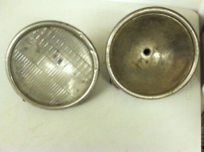 2 original headlights for 1928-1929 ford model a car left & right