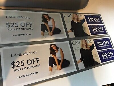Four Discount Savings Lane Bryant And Catherines