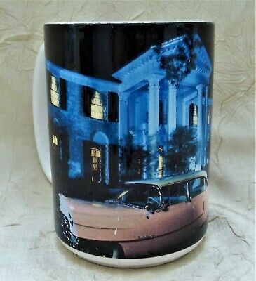06e6e3737d6 Elvis Presley's Graceland with Pink Cadillac Coffee Mug EPE Product Cup