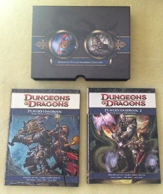 Dungeons & Dragons 4th Edition Player's Handbook #1 & #2 Collection NEW