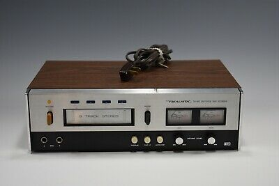 Vintage Realistic Tr-882 Cartridge Tape Recorder 8 Track Player