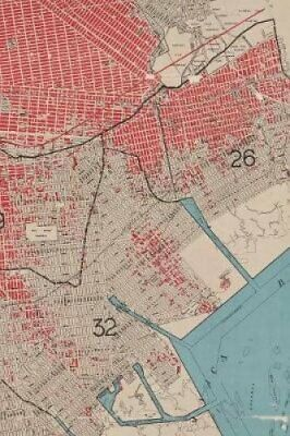 1912 Map of the borough of Brooklyn, city of New York A Poetose... 9781945366215