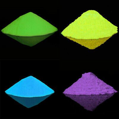 New Glow In The Dark Powder Luminescent Acrylic Nail Painting Neon Fluorescent