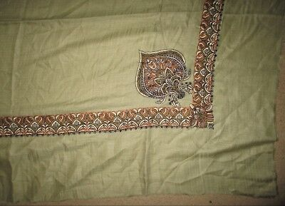 Vintage Traditional Embroidered  Shawl Good Condition
