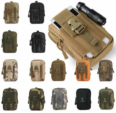 Wild Mini Tactical Waist Pack Belt Bag Outdoor Hiking Molle Pouch Mens Hot