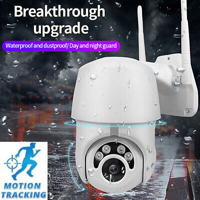 Motion tracking WiFi PTZ Speed Dome Camera 1080P Full HD Security IP IR Camera