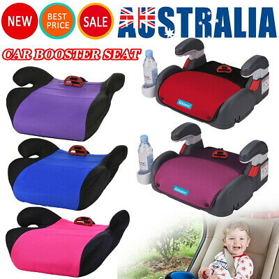 AU Child Car Booster Seat Chair Cushion Pad Mat For Toddler Children Kids Sturdy