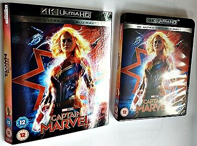 CAPTAIN MARVEL 4K ULTRA UHD* 15 July 2019. Read Description No 2D Disc.. ATMOS