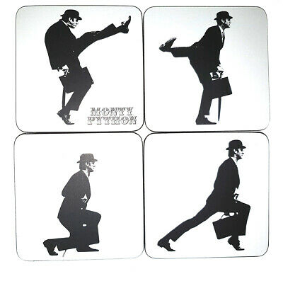 Monty Python Ministry Of Silly Walks Coaster Set Of 4 - Collectible Coasters - N
