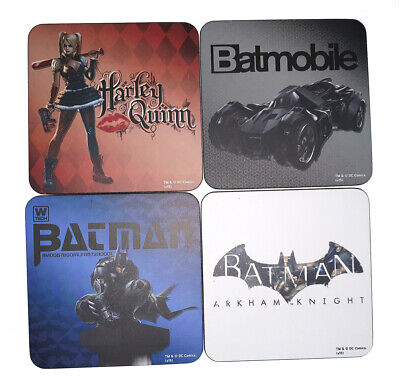 Batman Arkham Knight Coaster Set Of 4 - Collectible Coasters - New In Package