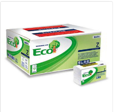 Towels Paper Disposable Folded 2 Layers Box 220 Wipes conf18 Boxes