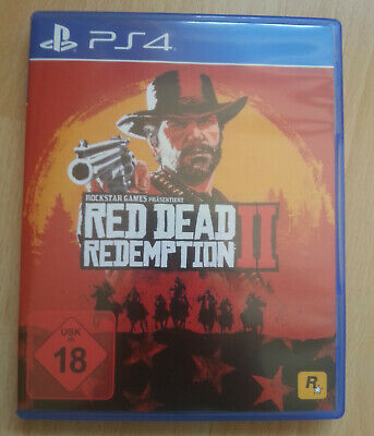 Red Dead Redemption 2 (Sony PlayStation 4, 2018) PS4 PS 4
