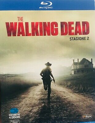 The walking dead Stagione 2 Blue Ray Disc