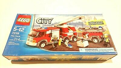 LEGO 7239 City Fire Truck (Brand New & Sealed)